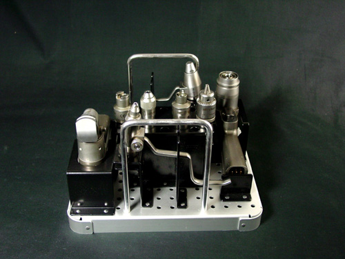 Stryker 6102-452 System 6 Sterilization Case for 2 Handpieces