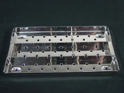 Tray for Implants and Instruments - Stack-able in Red Case