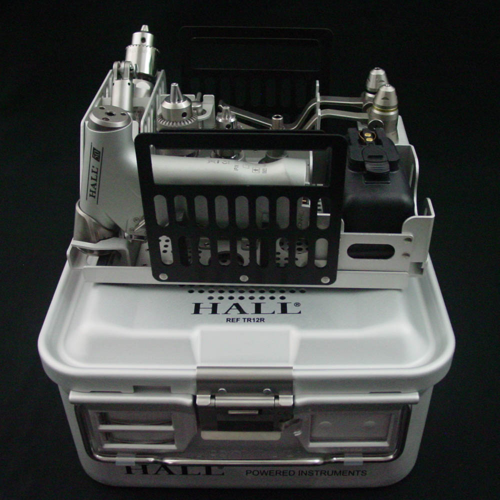 ConMed Hall 50 PRO7001T Sterilization 1/2 Size Inner Tray, Drill Set - Veterinary Surgical Only