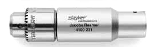"Stryker 4100-231 1/4"" Jacobs Chuck Reamer Attachment"