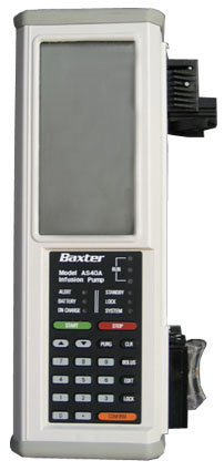 Baxter AS40A Autoinfusion Syringe Pump