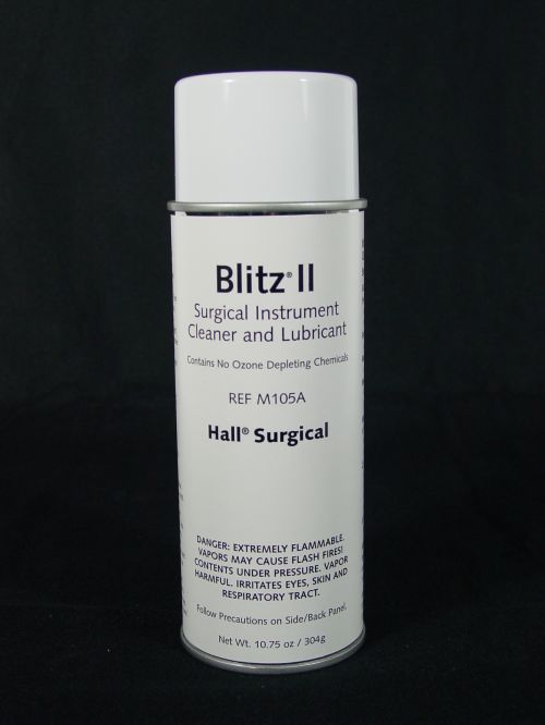 Hall M105A Blitz II Surgical Instrument Cleaner and Lubricant Spray *Veterinary Surgical Use Only*