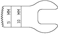 3M Hall/Linvatec K153 Mini-Driver Sagittal Saw Blade