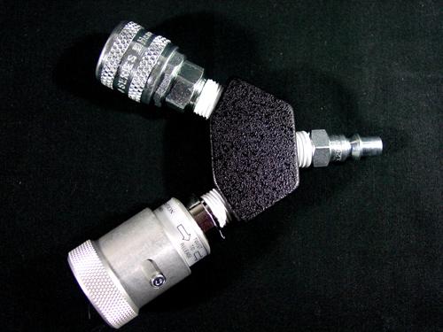 Dual Outlet AO/Air Schrader to AO Inlet