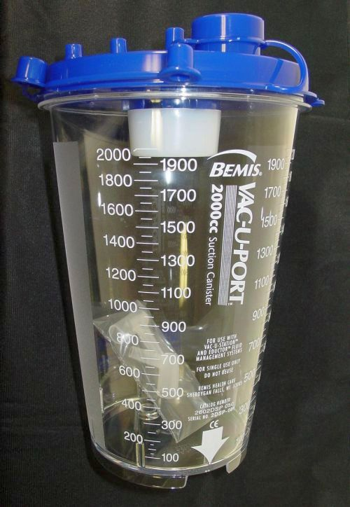 Disposable Collection Canister 2100 ml