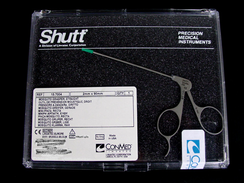 SHUTT - Linvatec 15.7004 Small Joint Arthroscopic Grasper