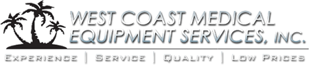 West Coast Medical Equipment Services, Inc. - Sitemap